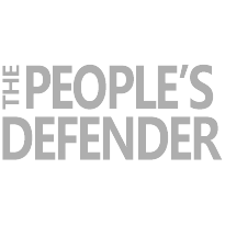 The People's Defender logo