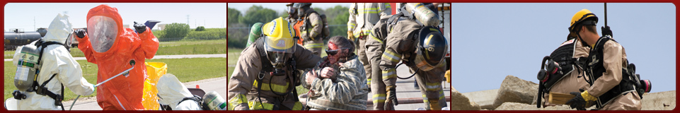 HAZMAT team, disaster rescue, deep-rescue training