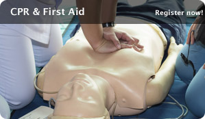 CPR and First Aid training classes